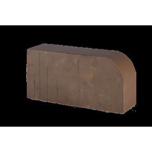 12.201115L Фигурный кирпич Lode Brunis F15 (R-60) коричневый гладкий