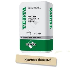 Цветная кладочная смесь Terta Тертамикс 0065 кремово-бежевый