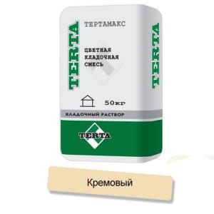 Цветная кладочная смесь Terta Тертамикс 0067 кремовый