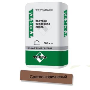 Цветная кладочная смесь Terta Тертамикс 0068 светло-коричневый
