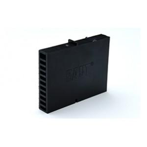 Вентиляционная коробочка Baut черный 80х60х12