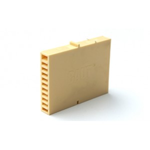 Вентиляционная коробочка Baut песочный 80х60х12