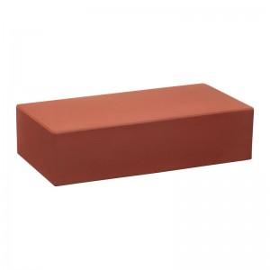 КС-керамик красный гладкий полнотелый печной кирпич