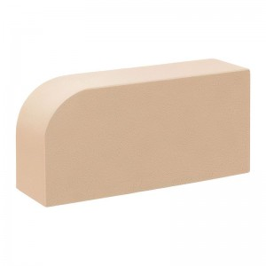 КС-керамик лотос гладкий  закругленный (радиусный) полнотелый R-60