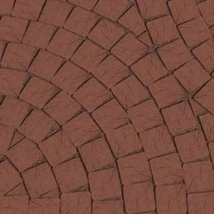 40.201180L Клинкерная брусчатка Мозаика Lode Brunis коричневая 60*60*62