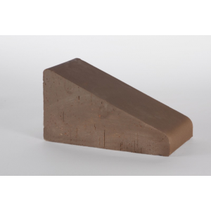 20.201210L Перекрытие забора Lode Brunis полнотелое малое коричневое 230х125х105 (распродажа)