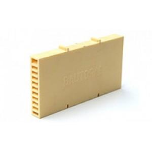 Вентиляционная коробочка Baut песочный 115х60х12