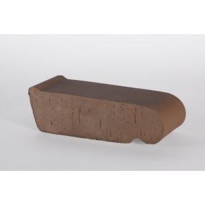 20.201310L Подоконник полнотелый малый Lode Brunis малый коричневый 225х60х88