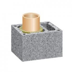 Дымоход SCHIEDEL UNI одноходовой с вентиляцией Д 16L