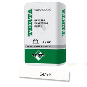 Цветная кладочная смесь Terta Тертамикс 0051 белый