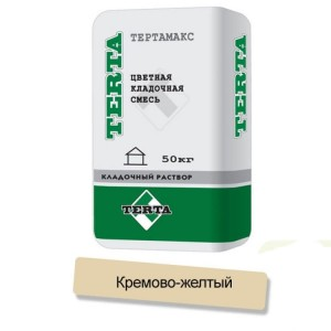 Цветная кладочная смесь Terta Тертамикс 0066 кремово-желтый
