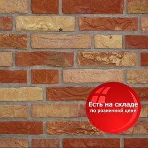 Облицовочный полнотелый кирпич Daas Baksteen 020 Achterhoeks (РАСПРОДАЖА СКЛАДА) / Цена от 1 поддона: 92,64 р.