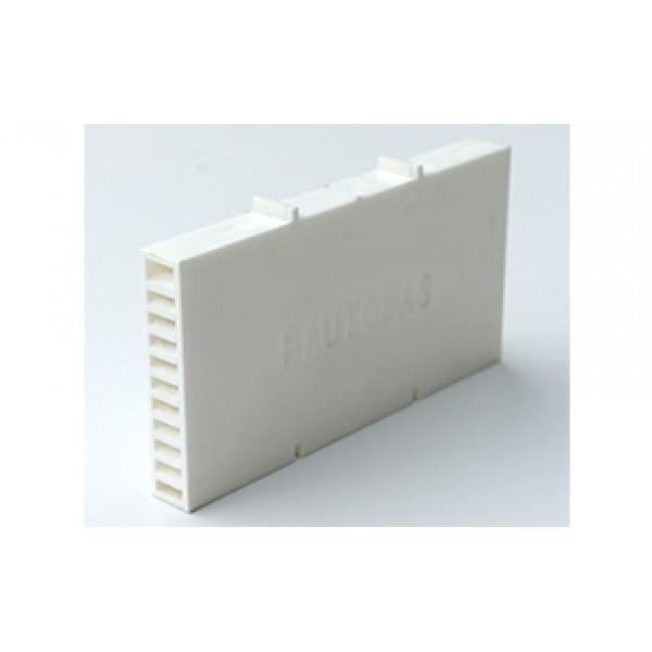 Вентиляционная коробочка Baut белая 115х60х12