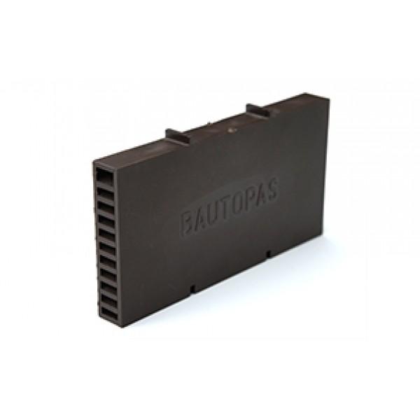 Вентиляционная коробочка Baut коричневый 115х60х12