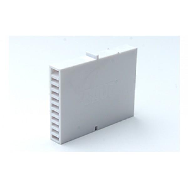 Вентиляционная коробочка Baut белая 80х60х12