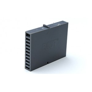 Вентиляционная коробочка Baut темно-серая 80х60х12