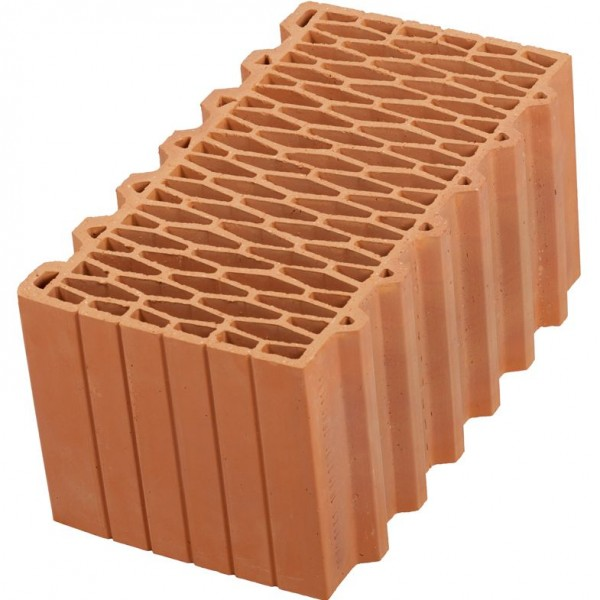 Крупноформатный строительный блок Porotherm 44