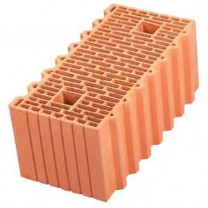 Крупноформатный строительный блок Porotherm 51