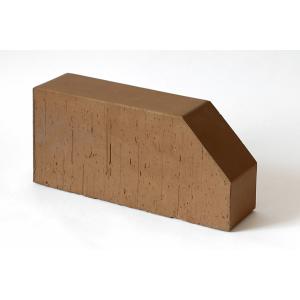 Фигурный кирпич Lode Brunis F6 коричневый гладкий