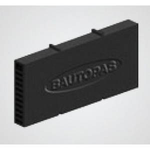 Вентиляционная коробочка Baut черный 115х60х12