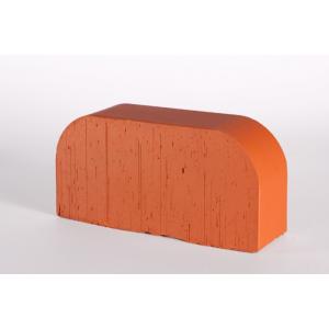 Oблицовочный фигурный кирпич Lode Janka F14, 250x120x65 красный гладкий