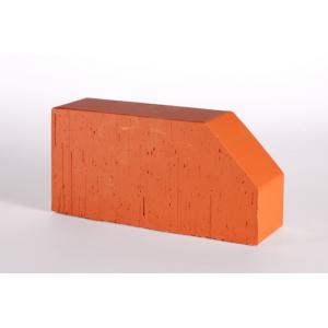 Oблицовочный фигурный кирпич Lode Janka F6, 250x120x65 красный гладкий
