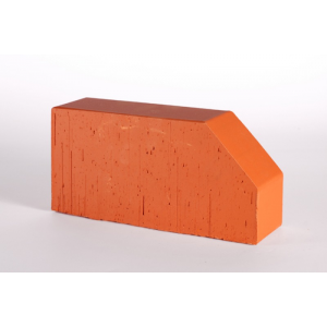 12.101106L Фигурный кирпич Lode Janka F6, 250x120x65 красный гладкий