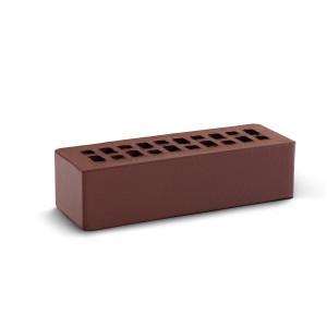 Кирпич лицевой эффективный фасадный КС Керамик шоколад
