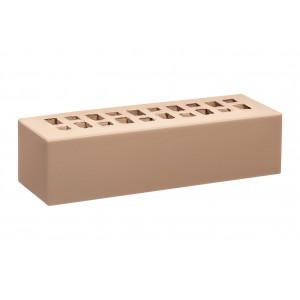 Кирпич лицевой эффективный фасадный КС Керамик (250х85х65мм) с утолщенной стенкой 20 мм Камелот Шоколад
