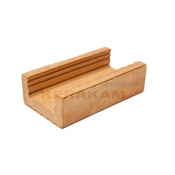 Строительный крупноформатный блок KERAKAM П (перемычка) 150/50