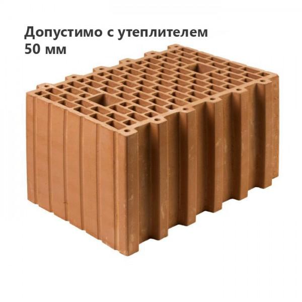 Строительный крупноформатный блок KERAKAM 38 Термо 100/50