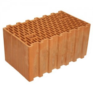 Строительный крупноформатный блок KERAKAM 44 100/50