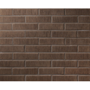 Кирпич полнотелый печной Lode Asais Brunis 250x120x65 коричневый штриховой