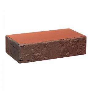 Лицевой кирпич полнотелый КС-керамик Аренбер гручной формовки (ФлешКрасный РФ)