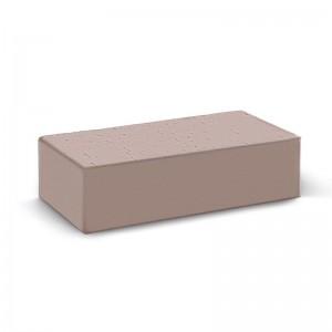 Лицевой кирпич полнотелый КС-керамик камелот темный шоколад