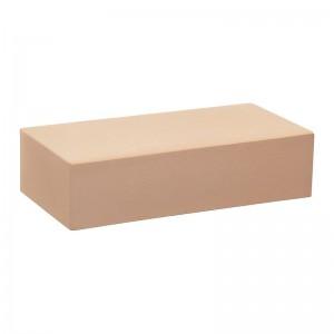 Лицевой кирпич полнотелый КС-керамик лотос гладкий (на складе)