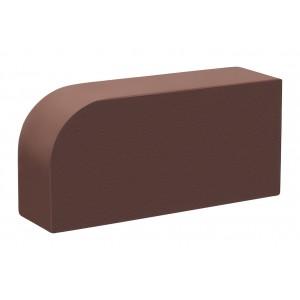 Лицевой кирпич полнотелый R-60 КС-керамик темный шоколад гладкий