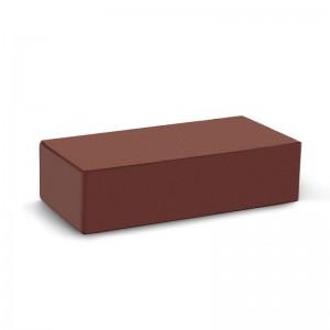 Лицевой кирпич полнотелый КС-керамик терракот гладкий (на складе)