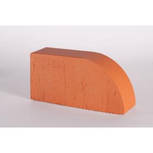 Фигурный кирпич Lode Janka F17 красный гладкий