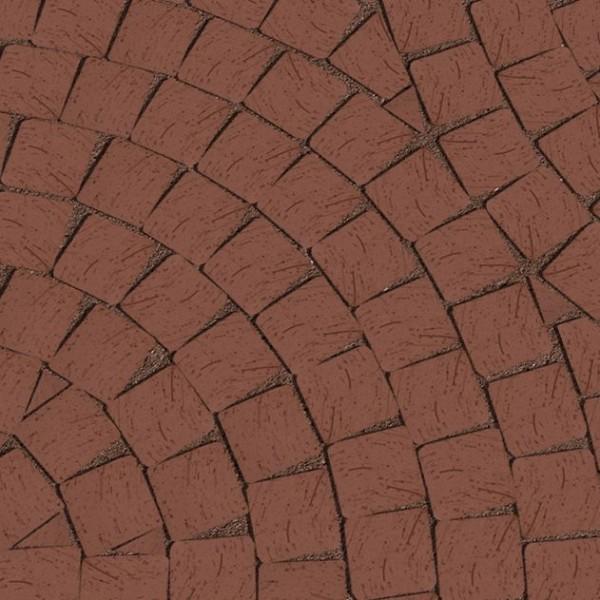 Клинкерная брусчатка Lode Brunis Мозаика 60х60х52