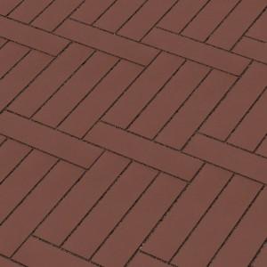 Брусчатка клинкерная Lode Brunis паркетная коричневая 250х45х65