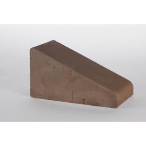 Перекрытие забора Lode Brunis полнотелое малое коричневое 230х125х105