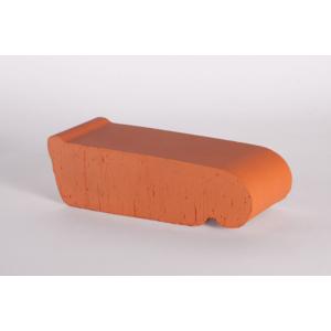 Подоконник полнотелый малый Lode малый красный 225х60х88