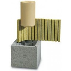 Дымоход SCHIEDEL UNI одноходовой без вентканала Д 14 см