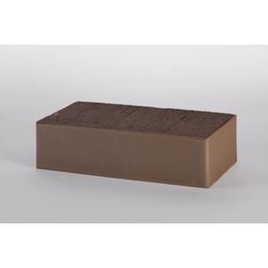 Кирпич полнотелый печной Lode Brunis 250x120x65 коричневый