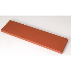 Плитка под кирпич Lode Libra, 250x10x65 темно-красная, гладкая