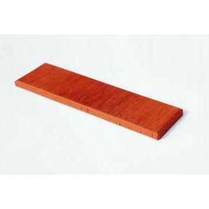 Плитка под кирпич Lode Asais Janka, 250x10x65 красная штриховая