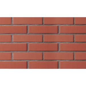 Угловая плитка под кирпич Lode Libra, 120/250x10x65 темно-красная, гладкая
