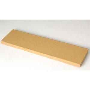 Плитка под кирпич Lode Dzintra, 250x10x65 темно-желтая, гладкая