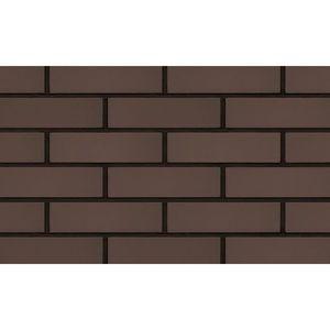 Плитка под кирпич Lode Taurus, 250x10x65 коричневая, гладкая